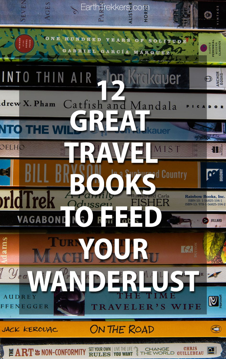 Best travel books to feed your wanderlust