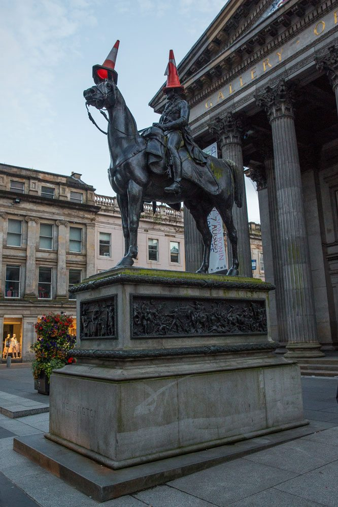 Glasgow cone Duke of Wellington