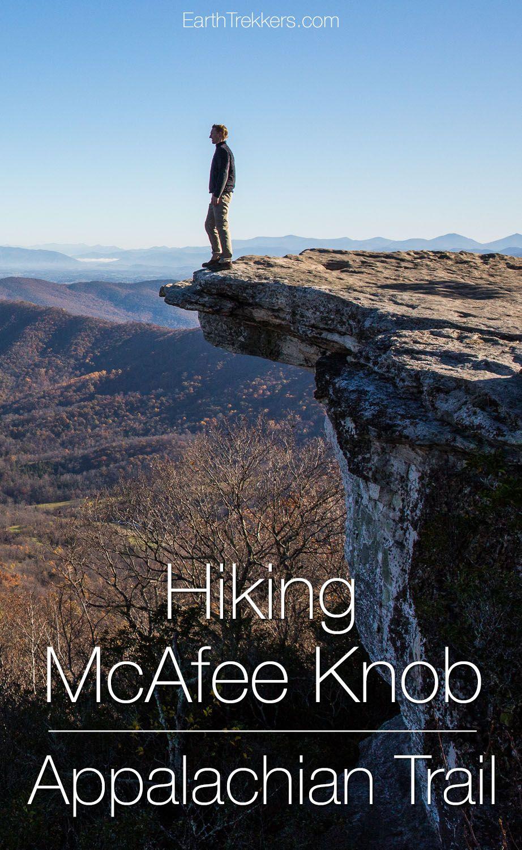 Hiking McAfee Knob Appalachian Trail