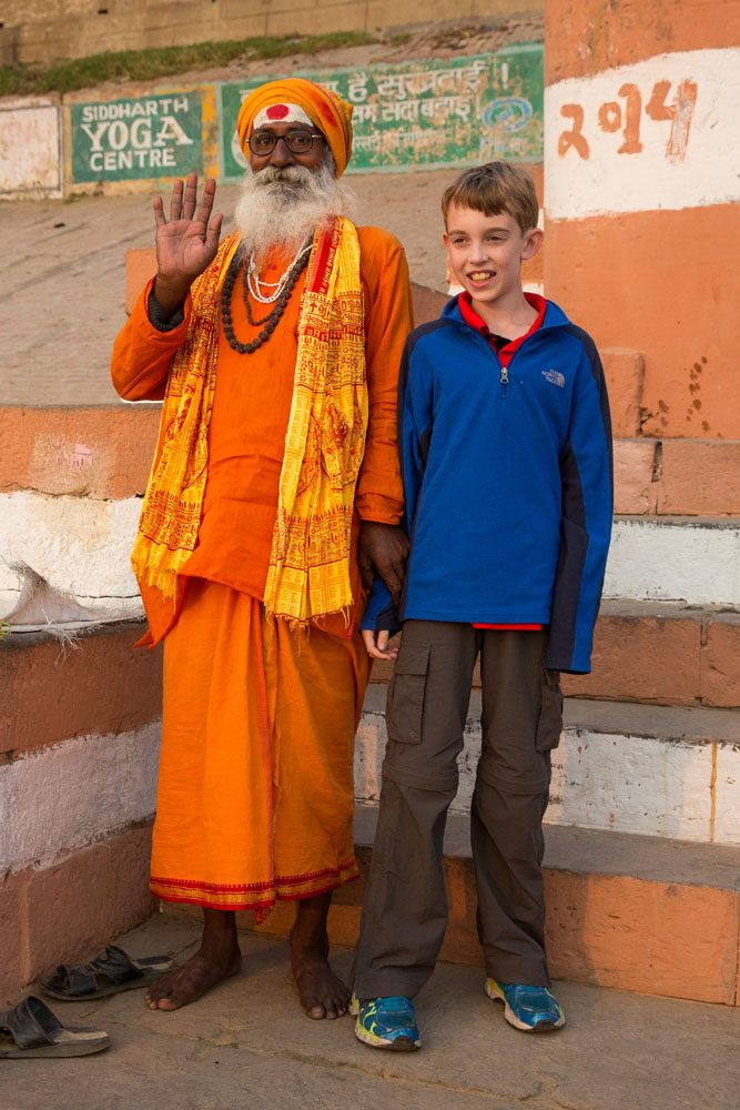 India holy man