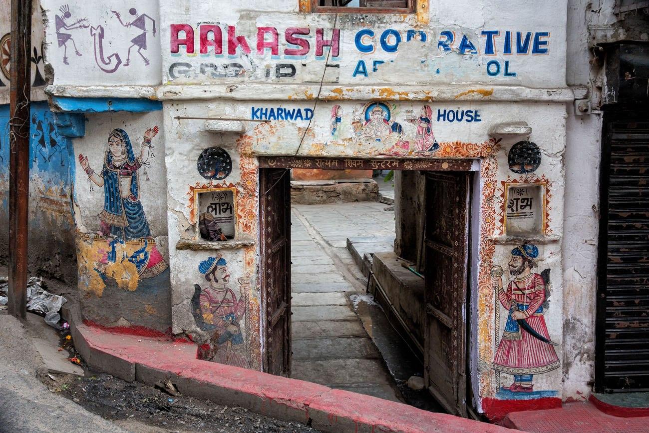 India street art