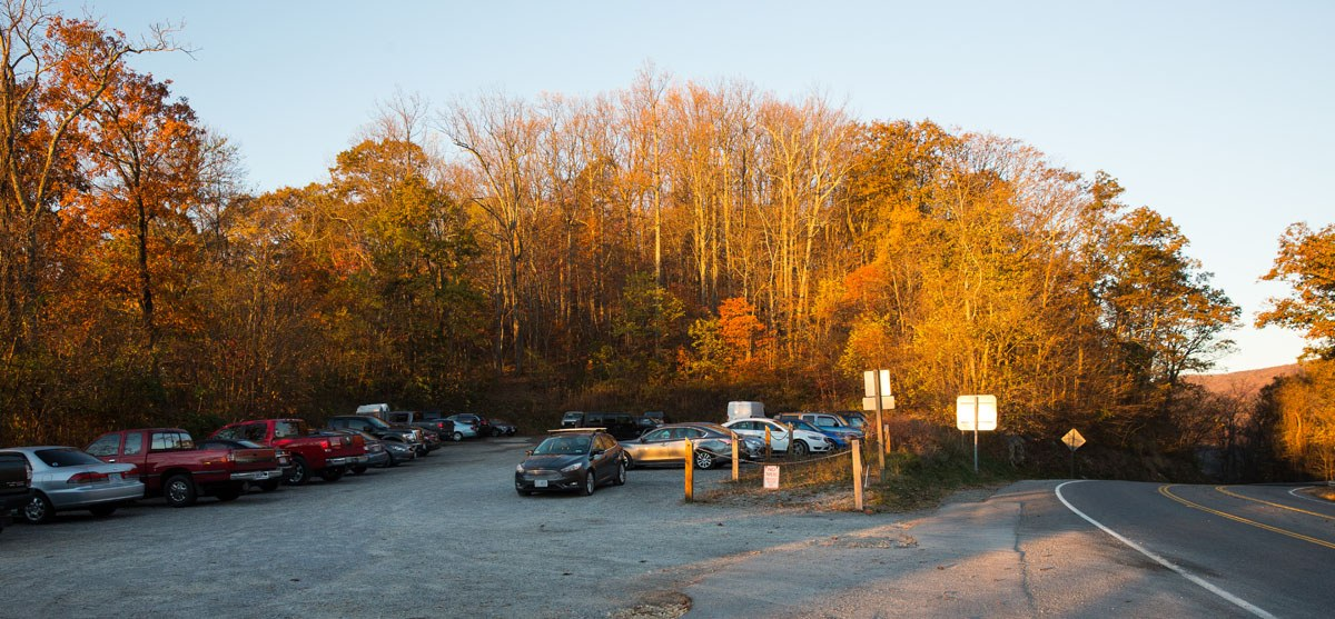 McAfee Knob parking