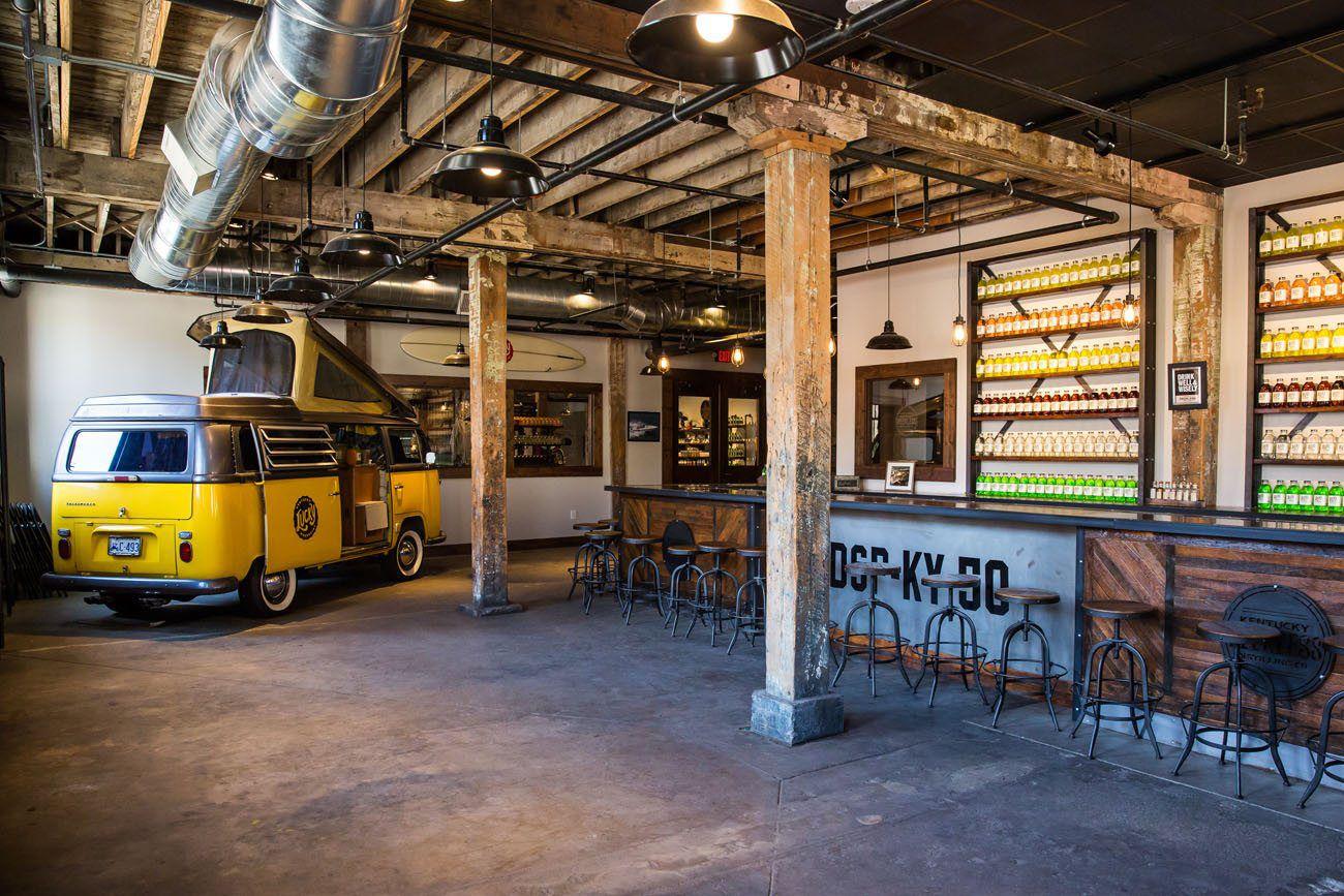 Peerless Distilling Bar
