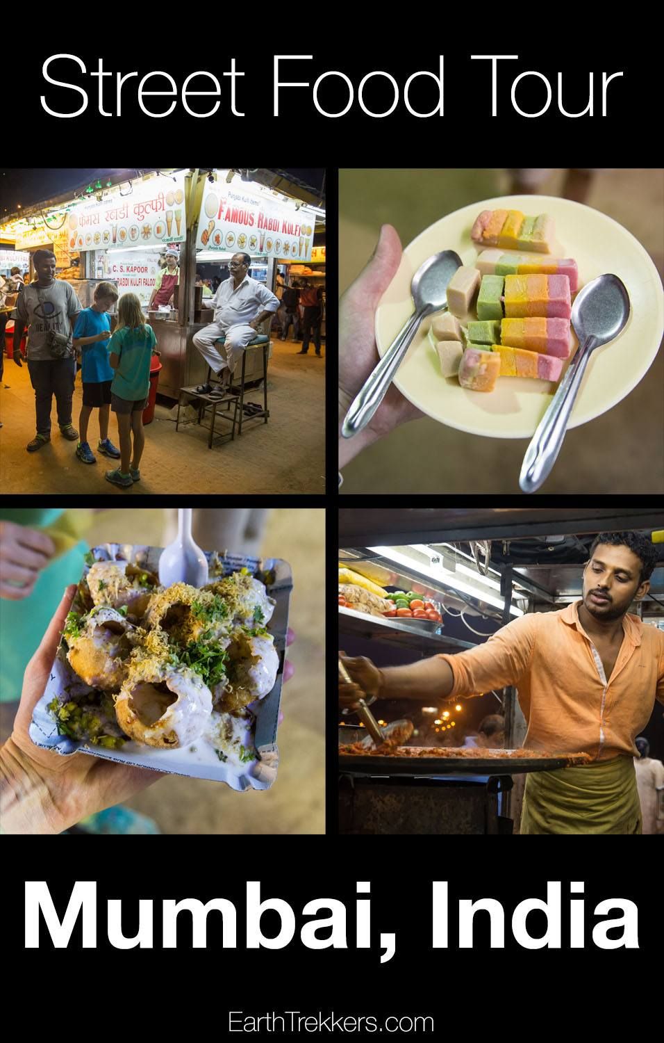 Street food tour in Mumbai India