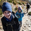 Trekking with kids