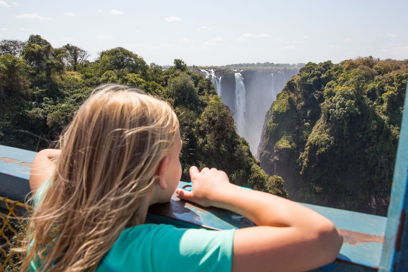 Victoria Falls with Kids