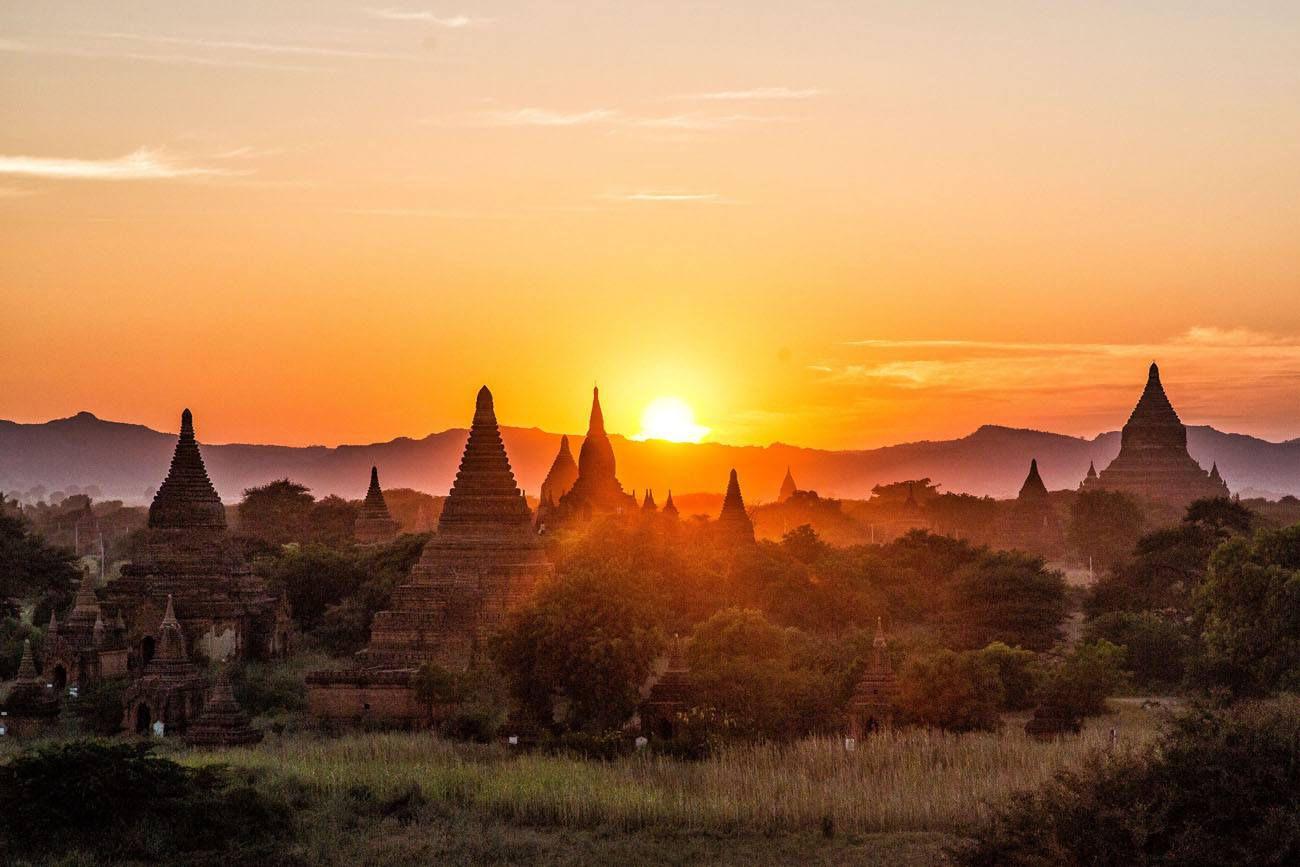 Bagan Sunset