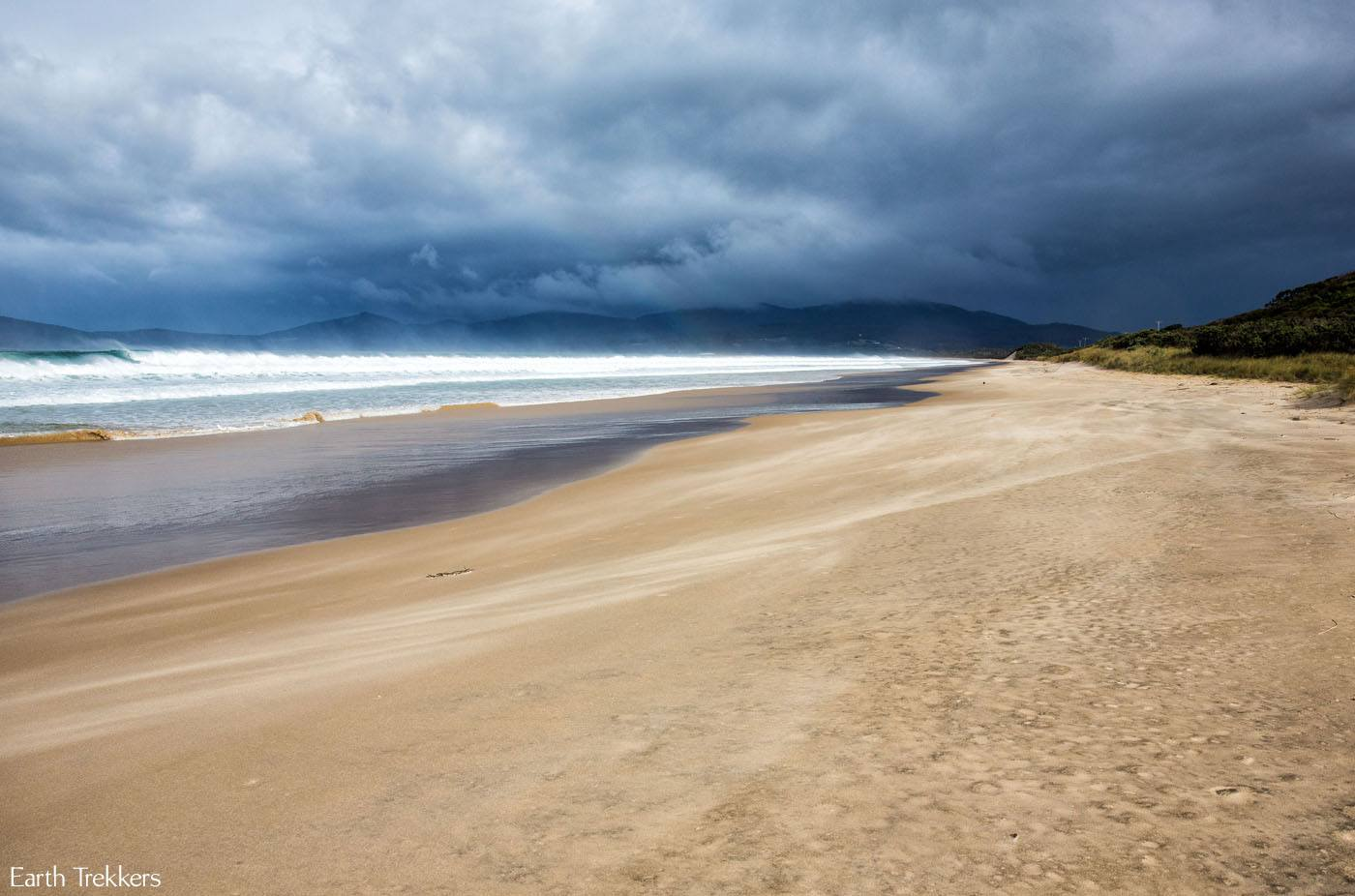 Bruny Island beach