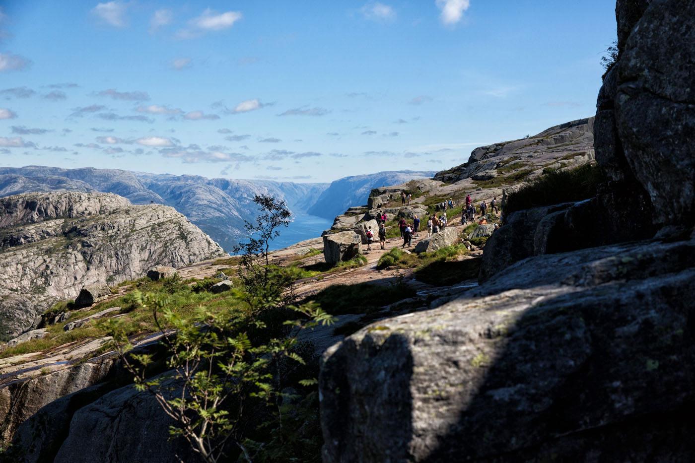 Love hiking in Norway