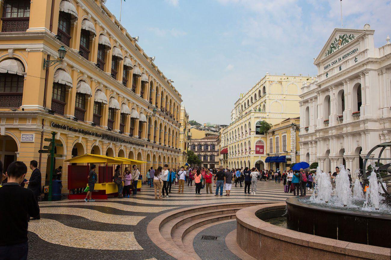 Macau downtown