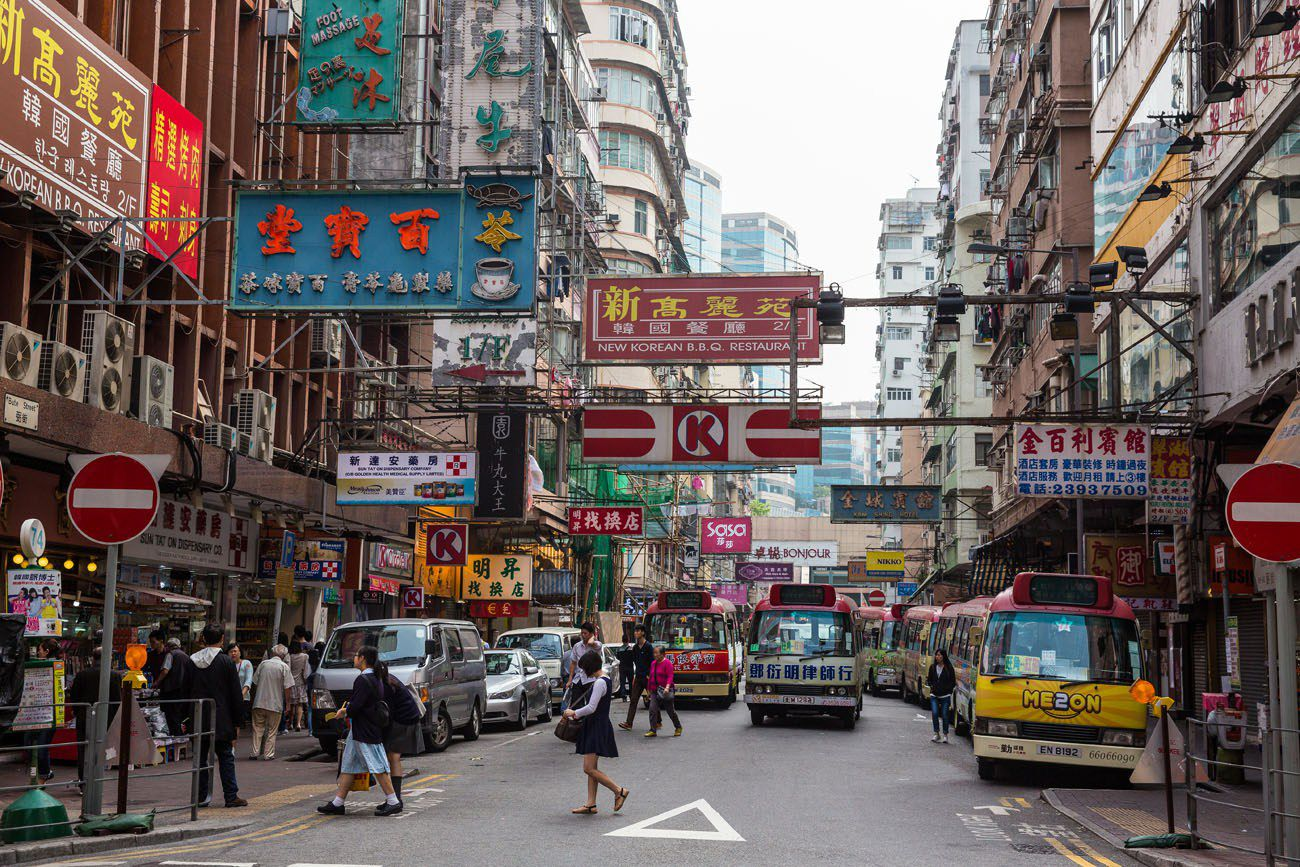 Mong Kok signs