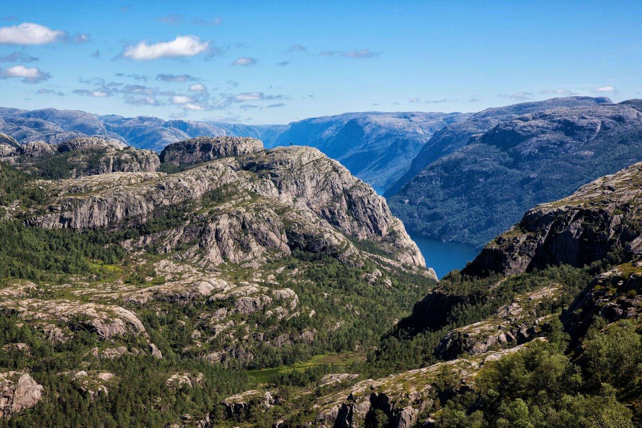 Pulpit Hike Norway view