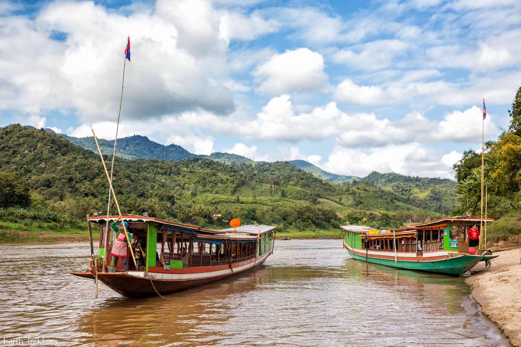 Taking the Slow Boat Down the Mekong River