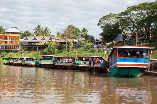Slow Boats Laos