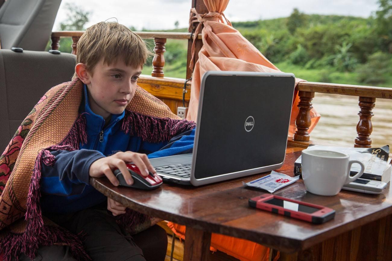 Tyler homeschooling