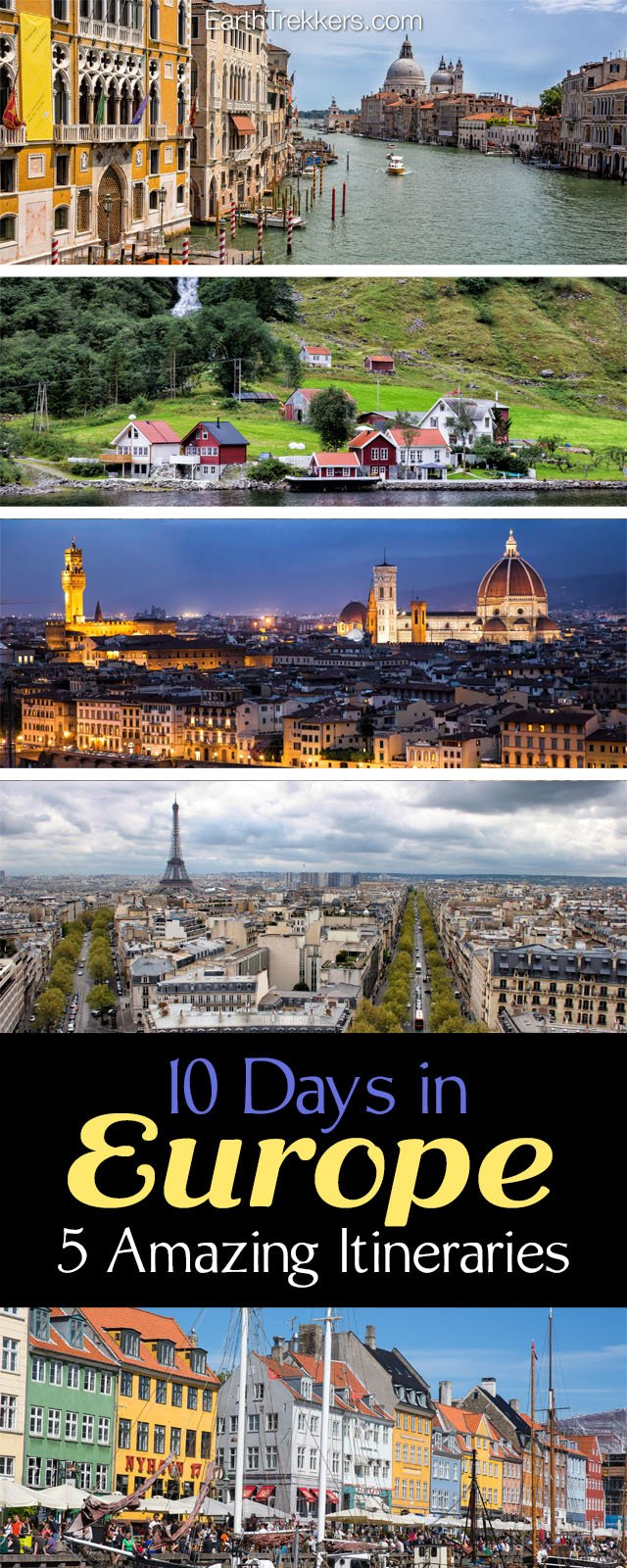 Days In Europe Amazing Itineraries Earth Trekkers - 10 european attractions every kid should experience