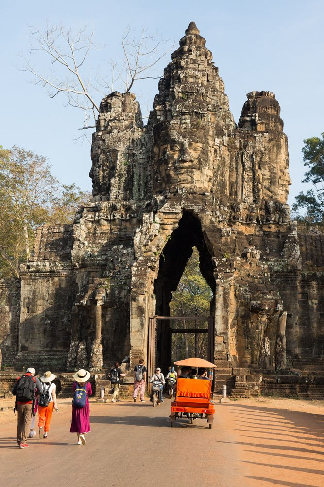 Angkor Thom entrance
