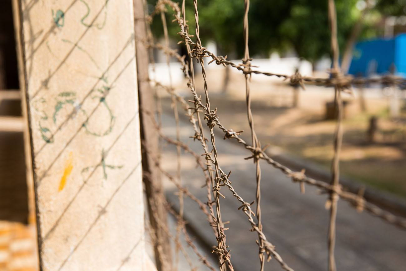 Barbed Wire Fence Cambodia