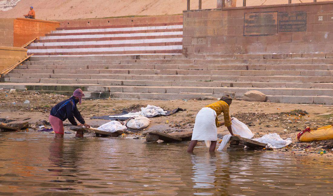 Doing Laundry Ganges