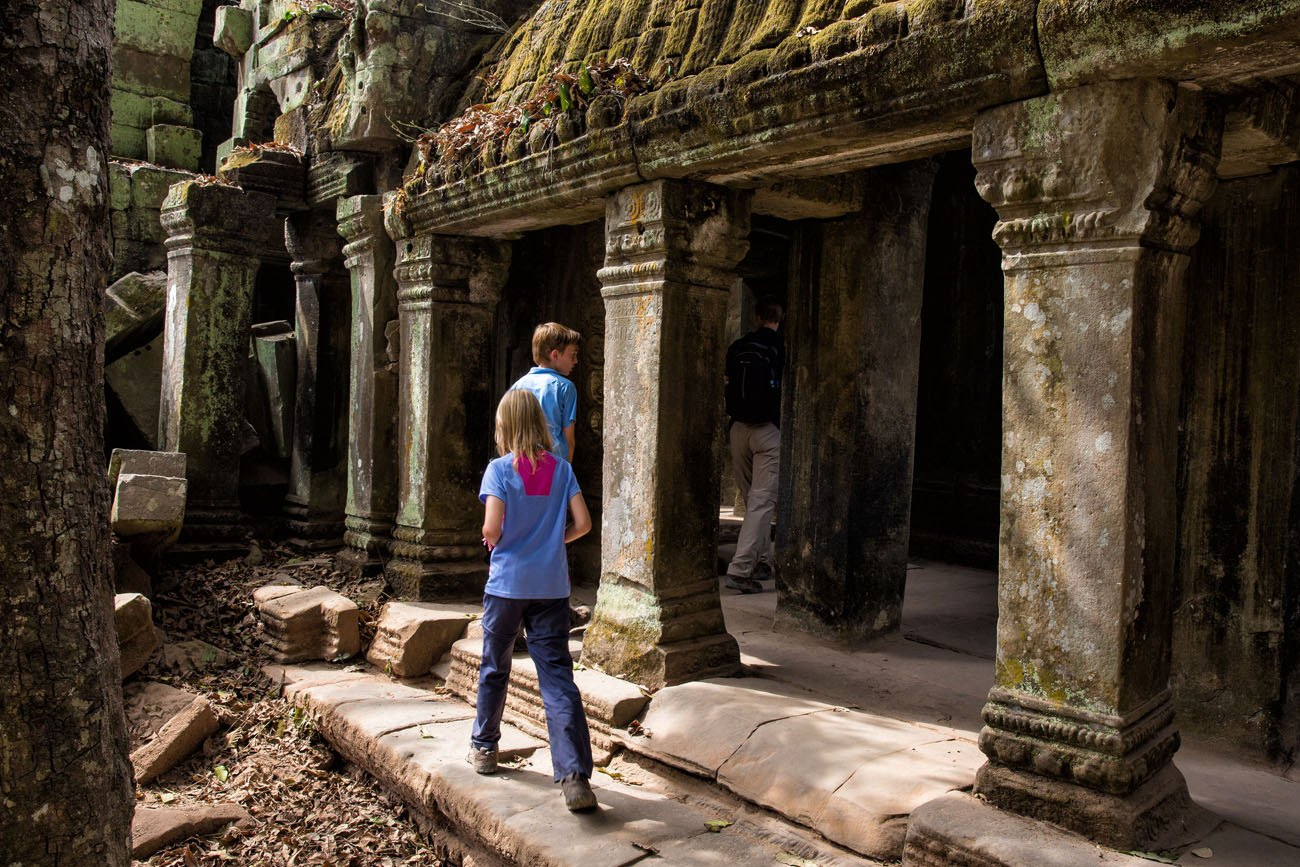 Family Adventure Travel Cambodia