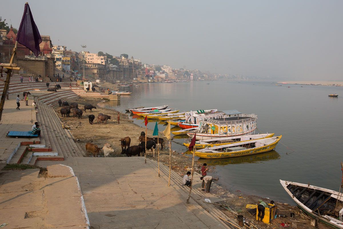 First View of Ganges