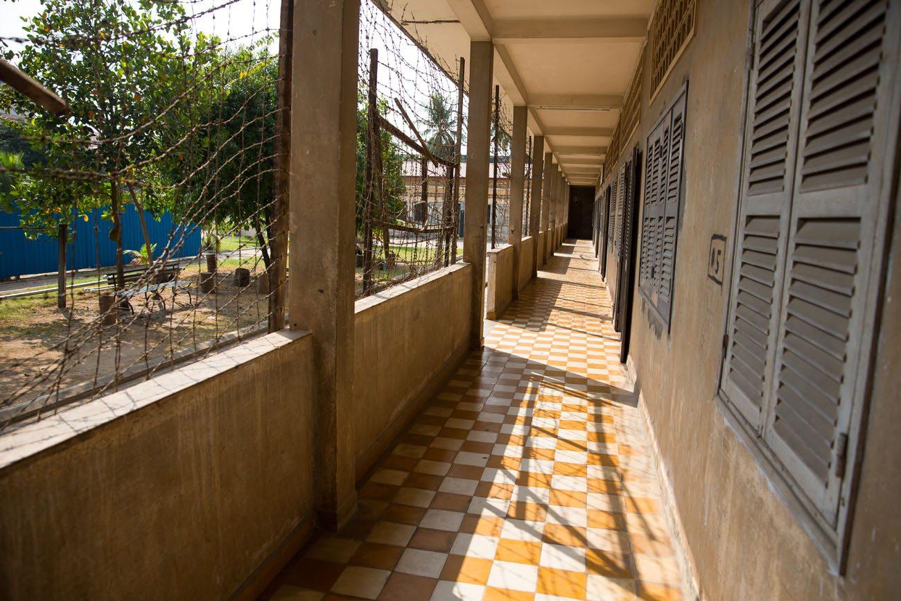 Hallway Tuol Sleng