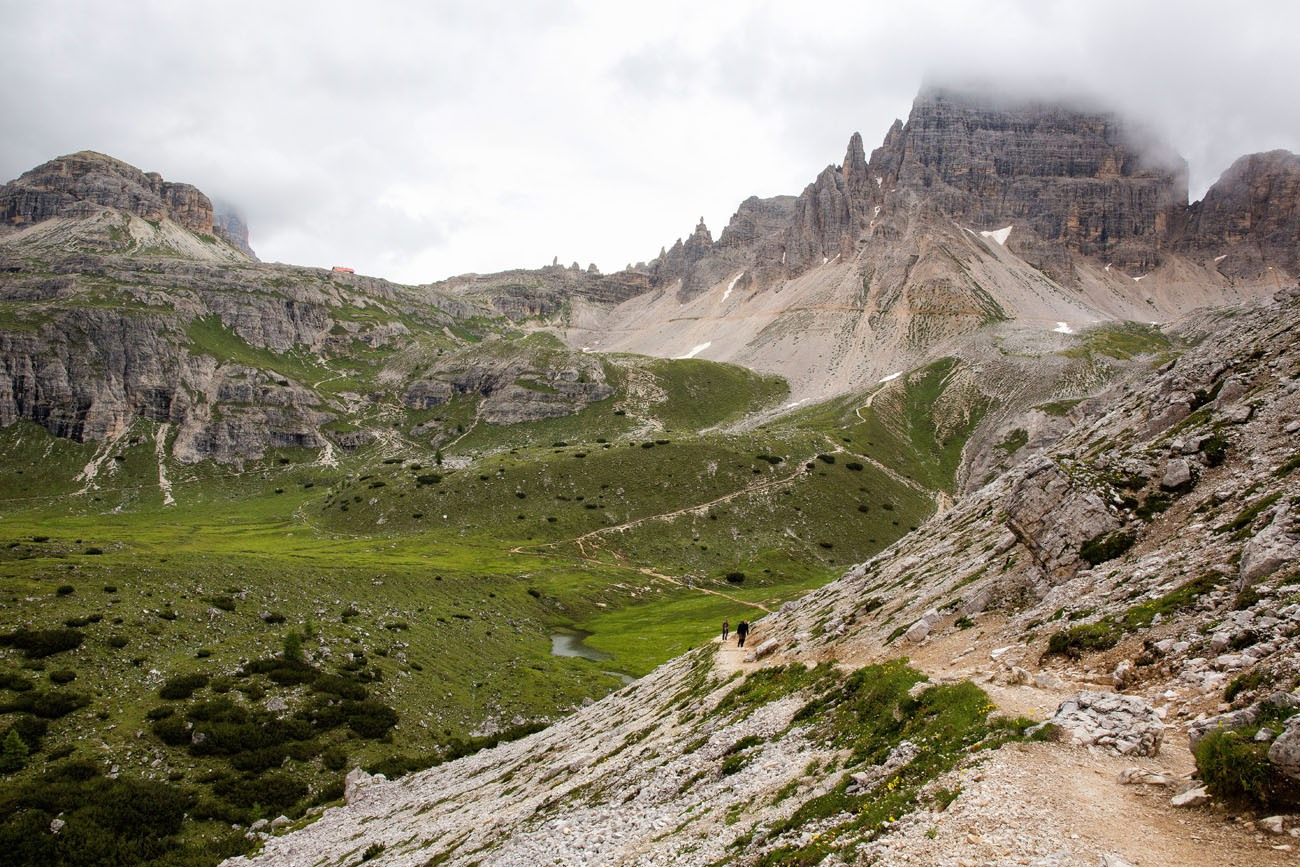 Hiking Tre Cime