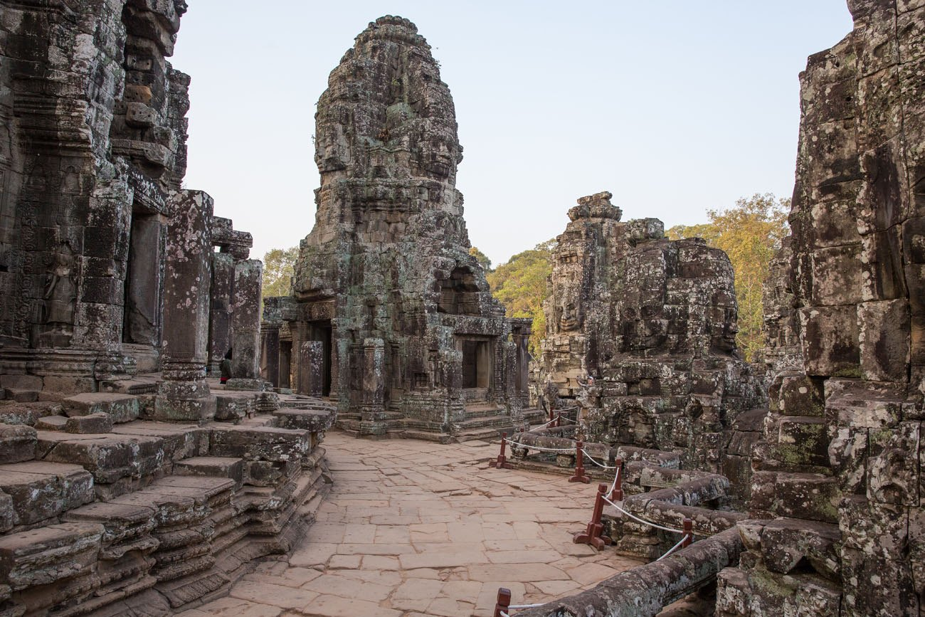 How to beat the crowds at Bayon