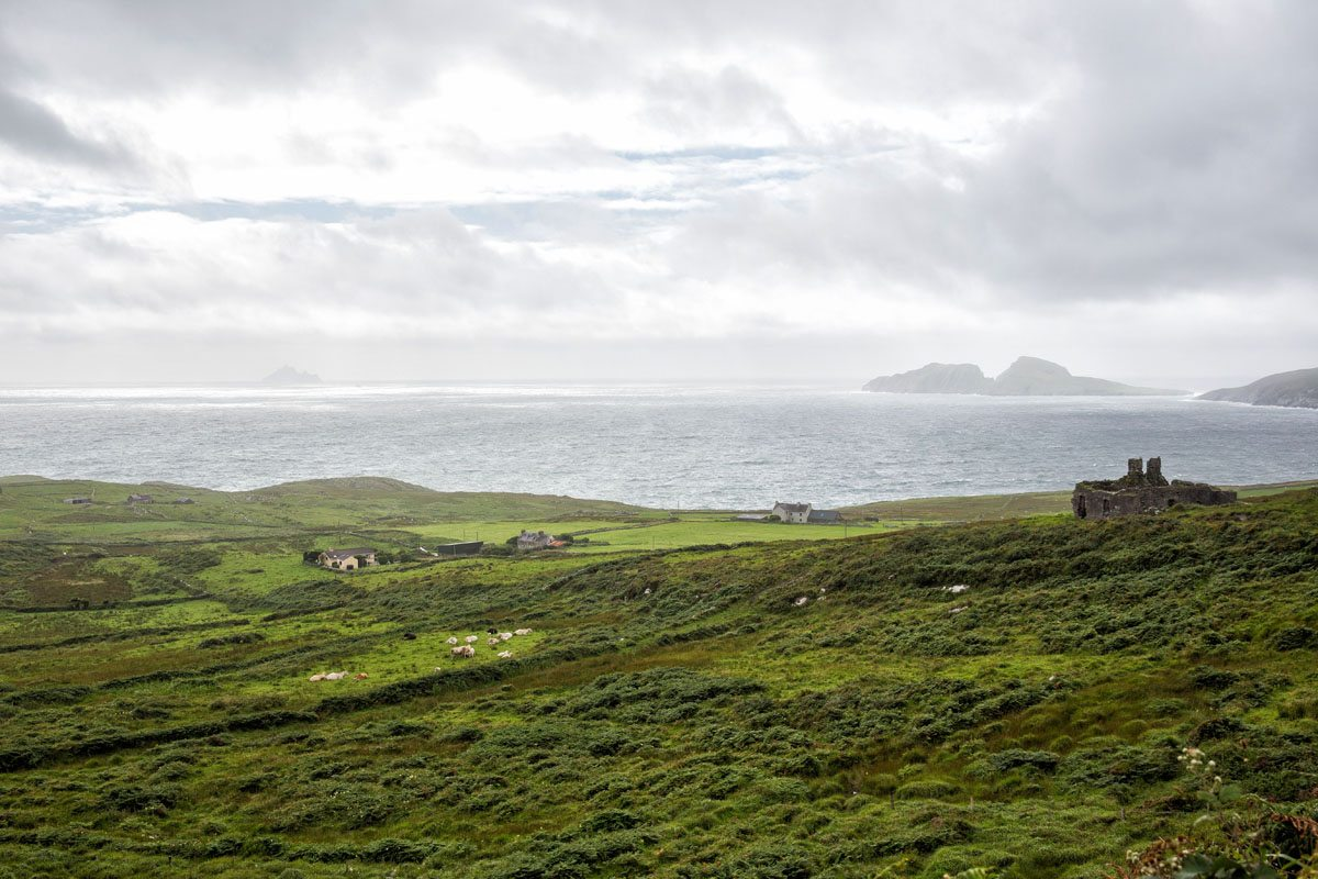 Ring of Kerry in the rain
