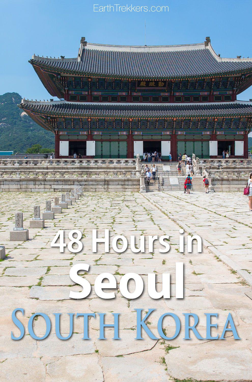 Seoul South Korea 48 Hours