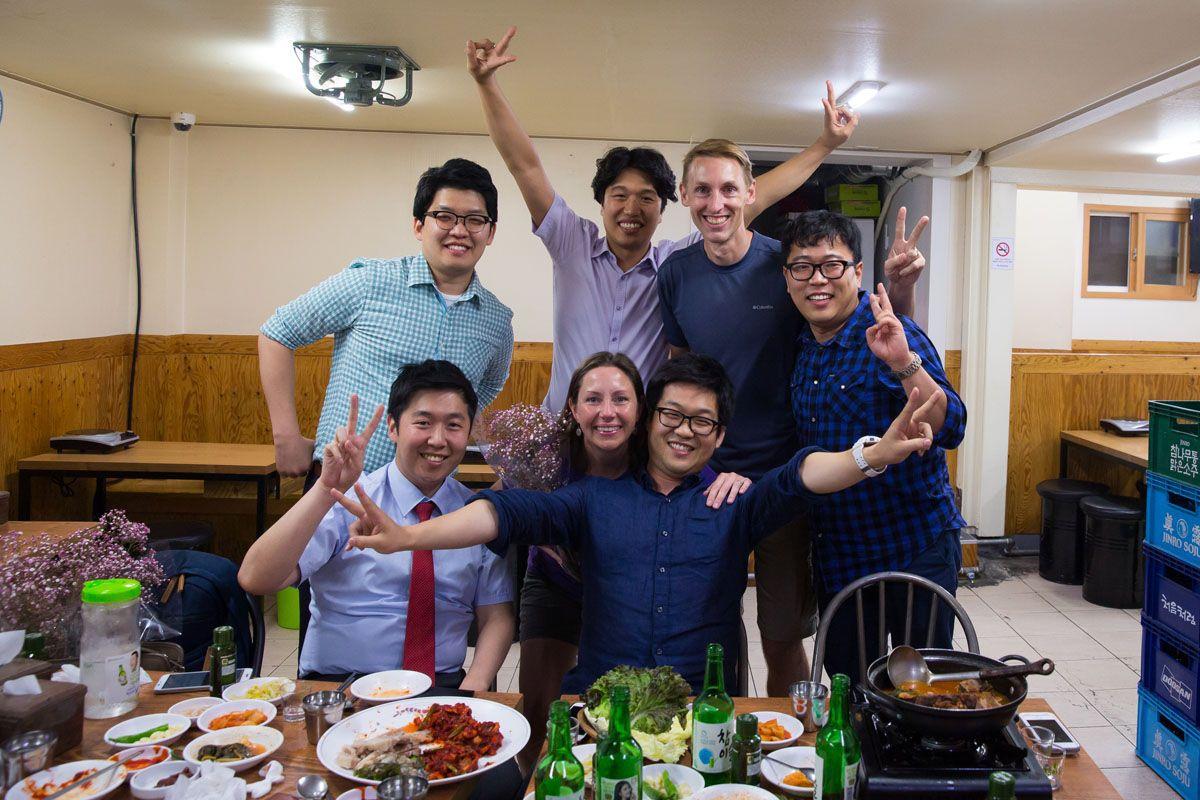 South Korea friends