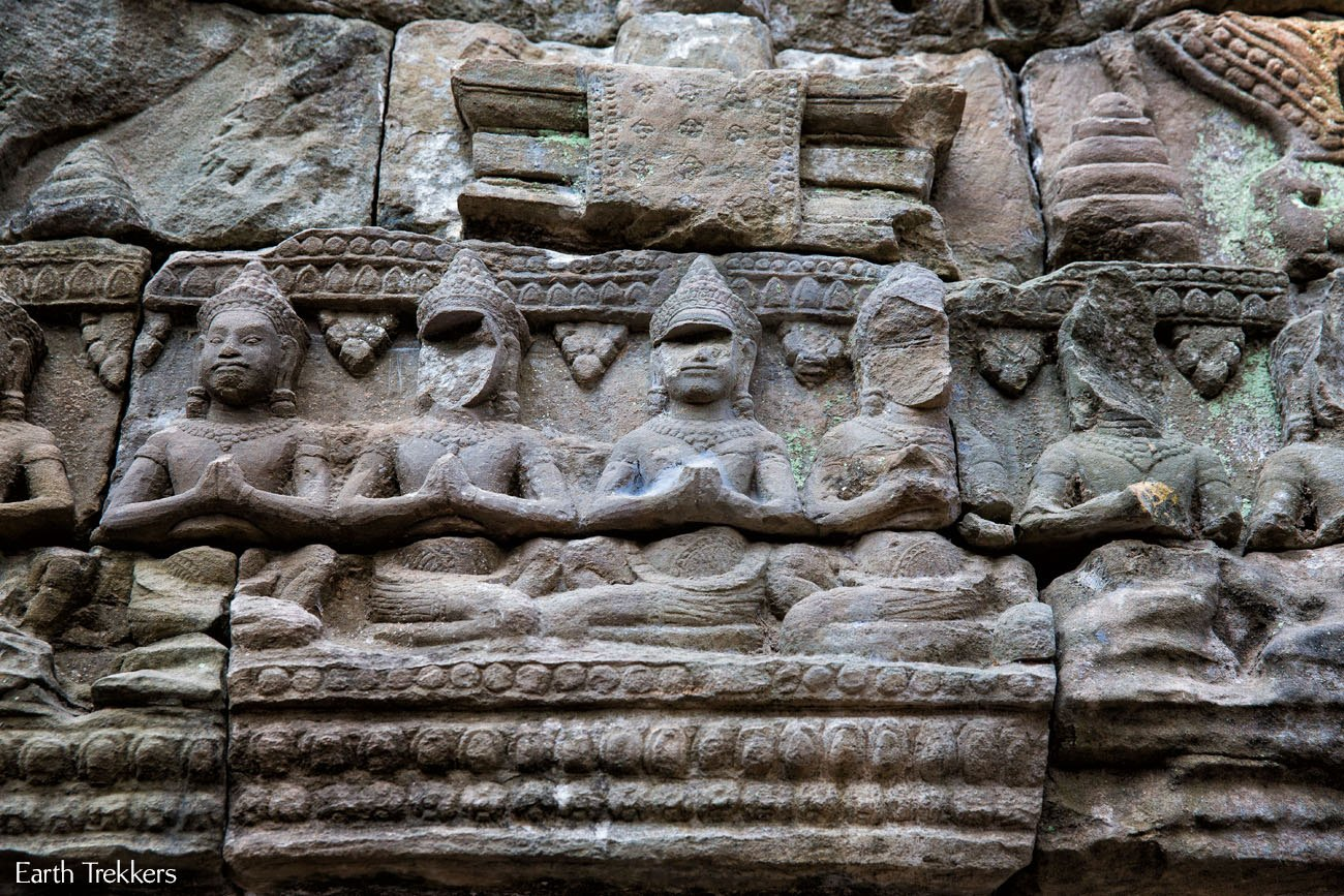 Ta Prohm carvings