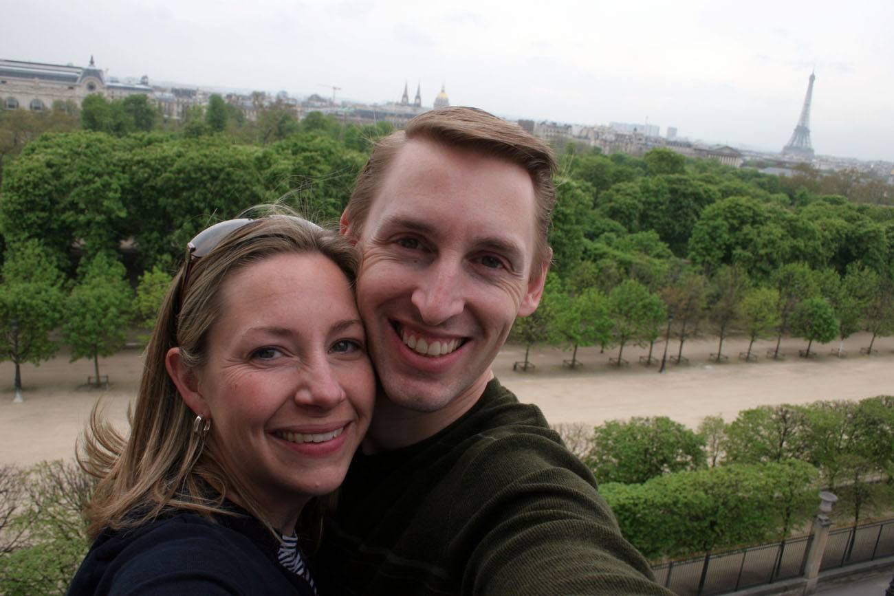Tim and Julie in Paris