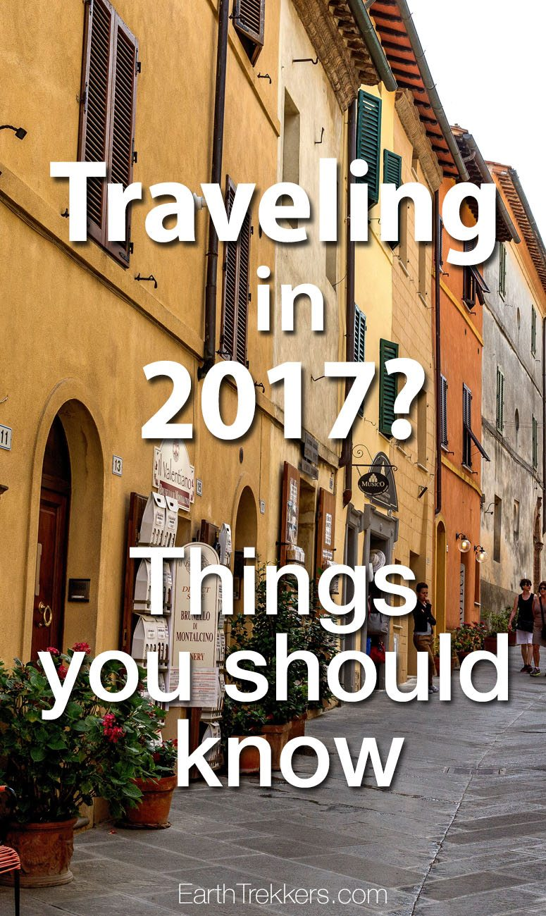 Travel 2017 Advice and Planning