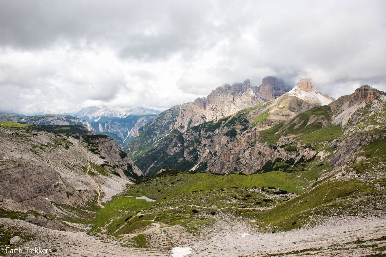Tre Cime Hike Valley