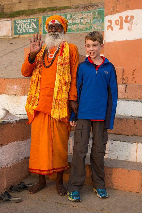 Tyler and a Sadhu
