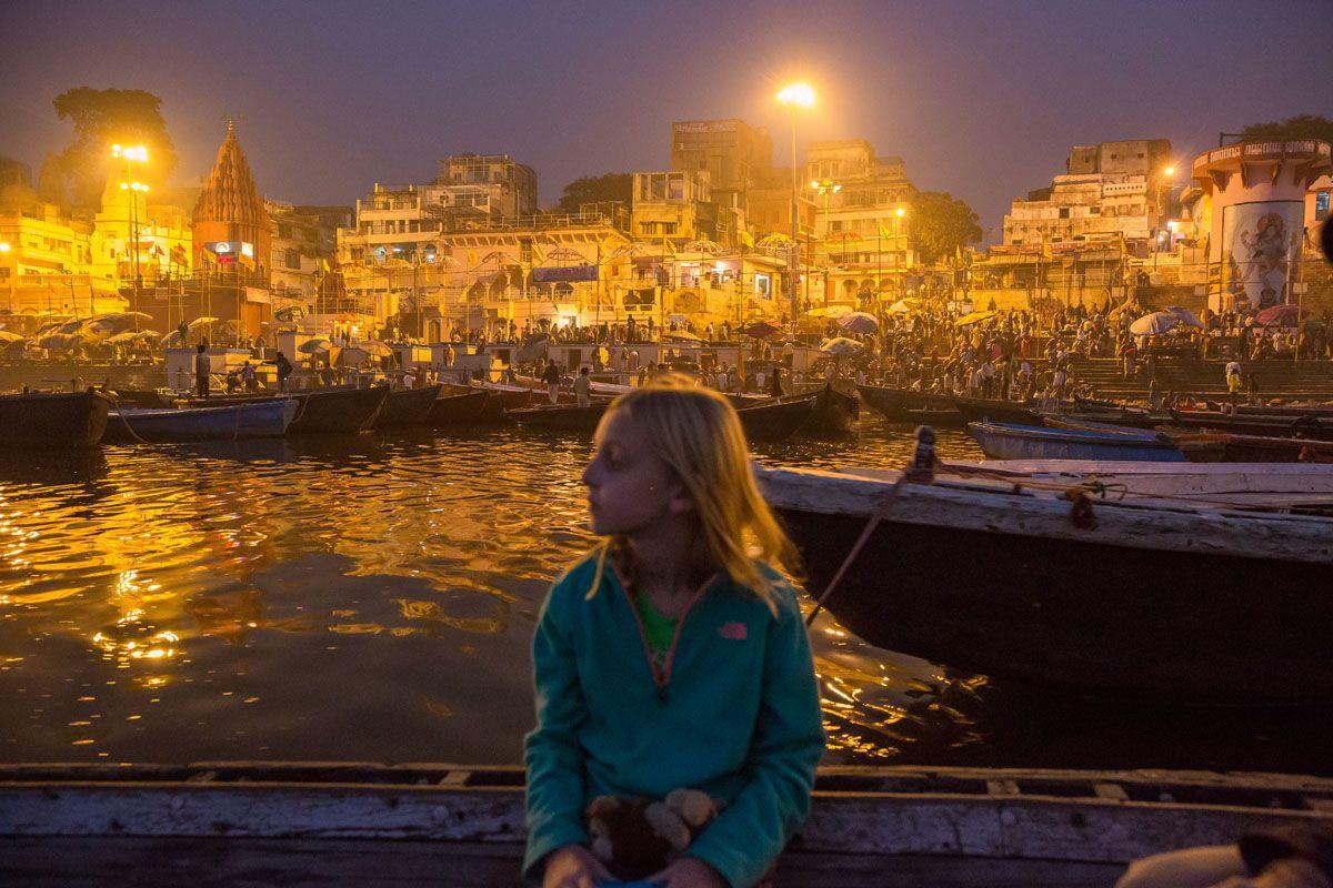 Varanasi with Kids
