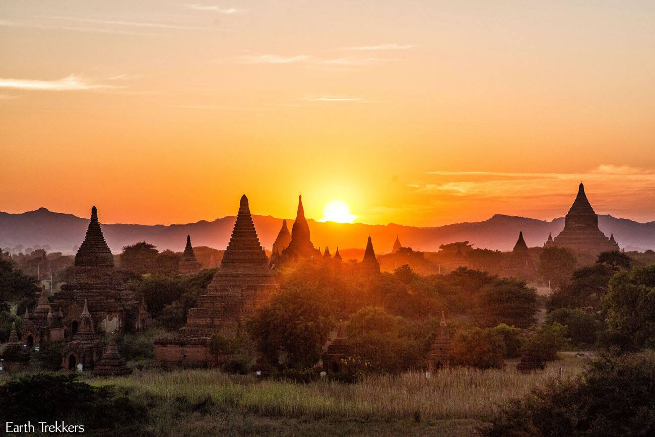 Cheap Tire Places >> Cycling Around the Temples of Bagan | Earth Trekkers