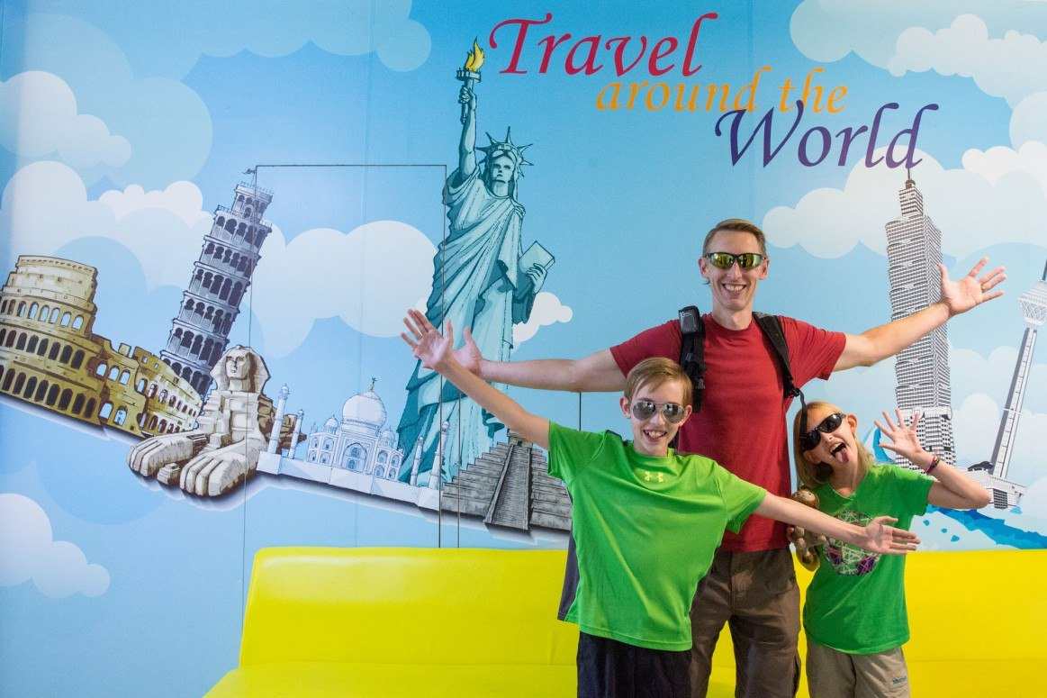 Family Around the World Travel