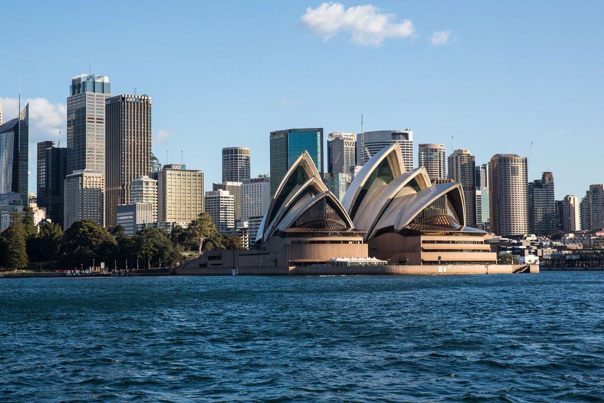 Ferry to Sydney