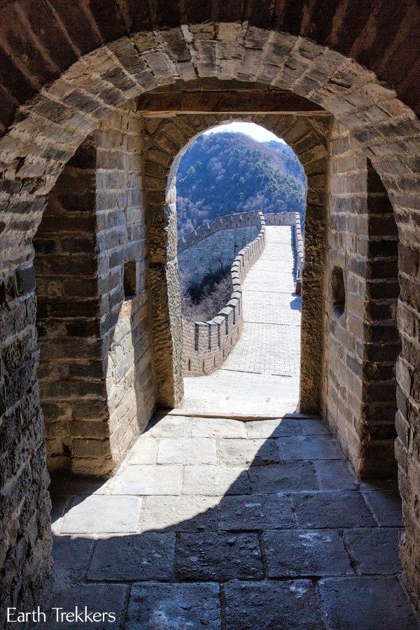 Great Wall doorway