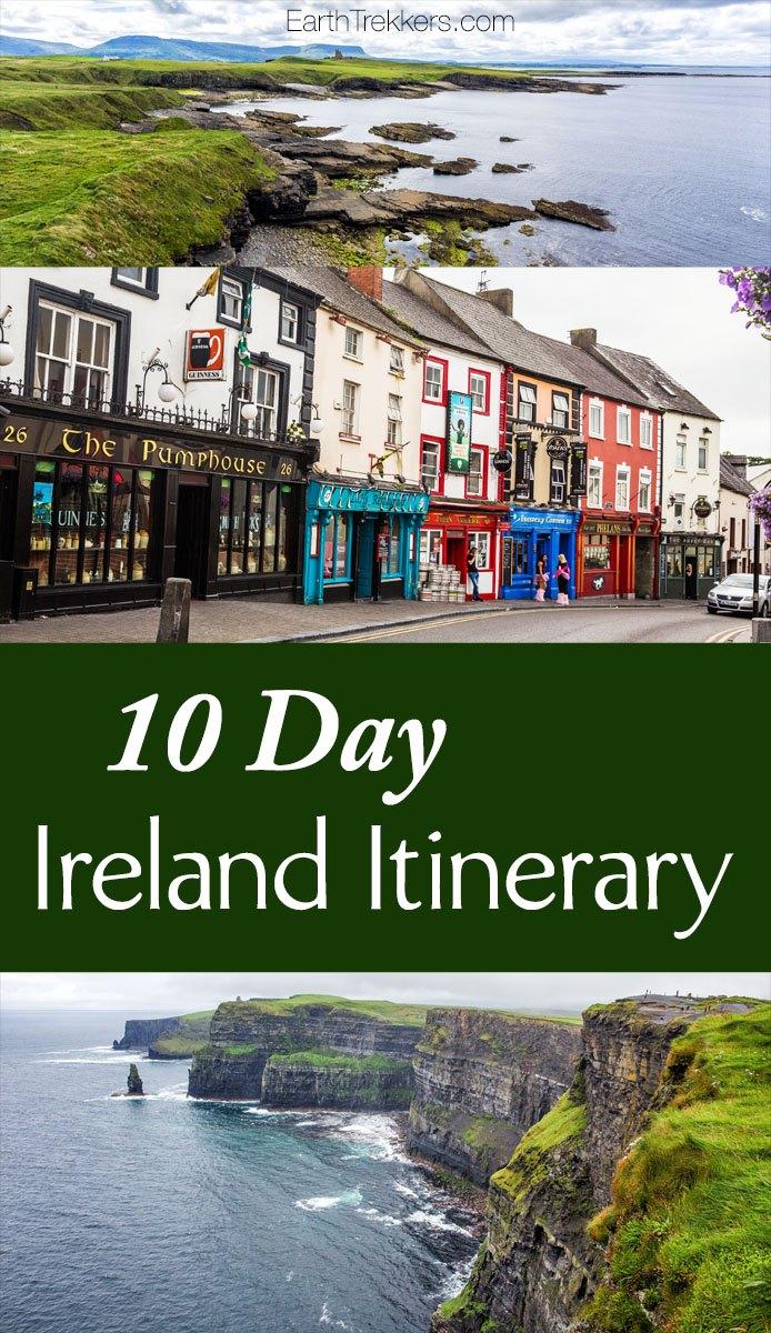 Day Ireland Itinerary Earth Trekkers - Ireland trip