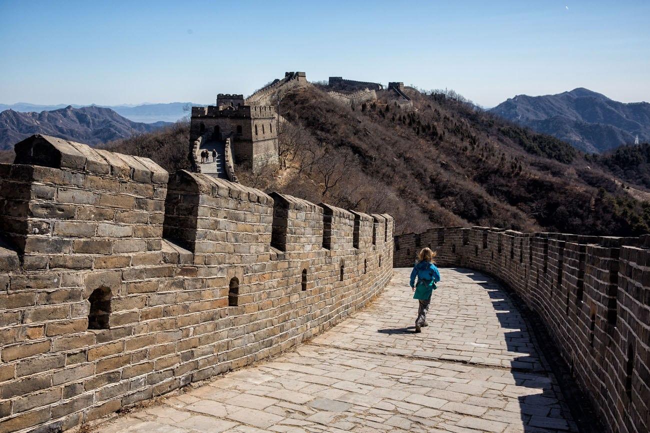 Kara on Great Wall