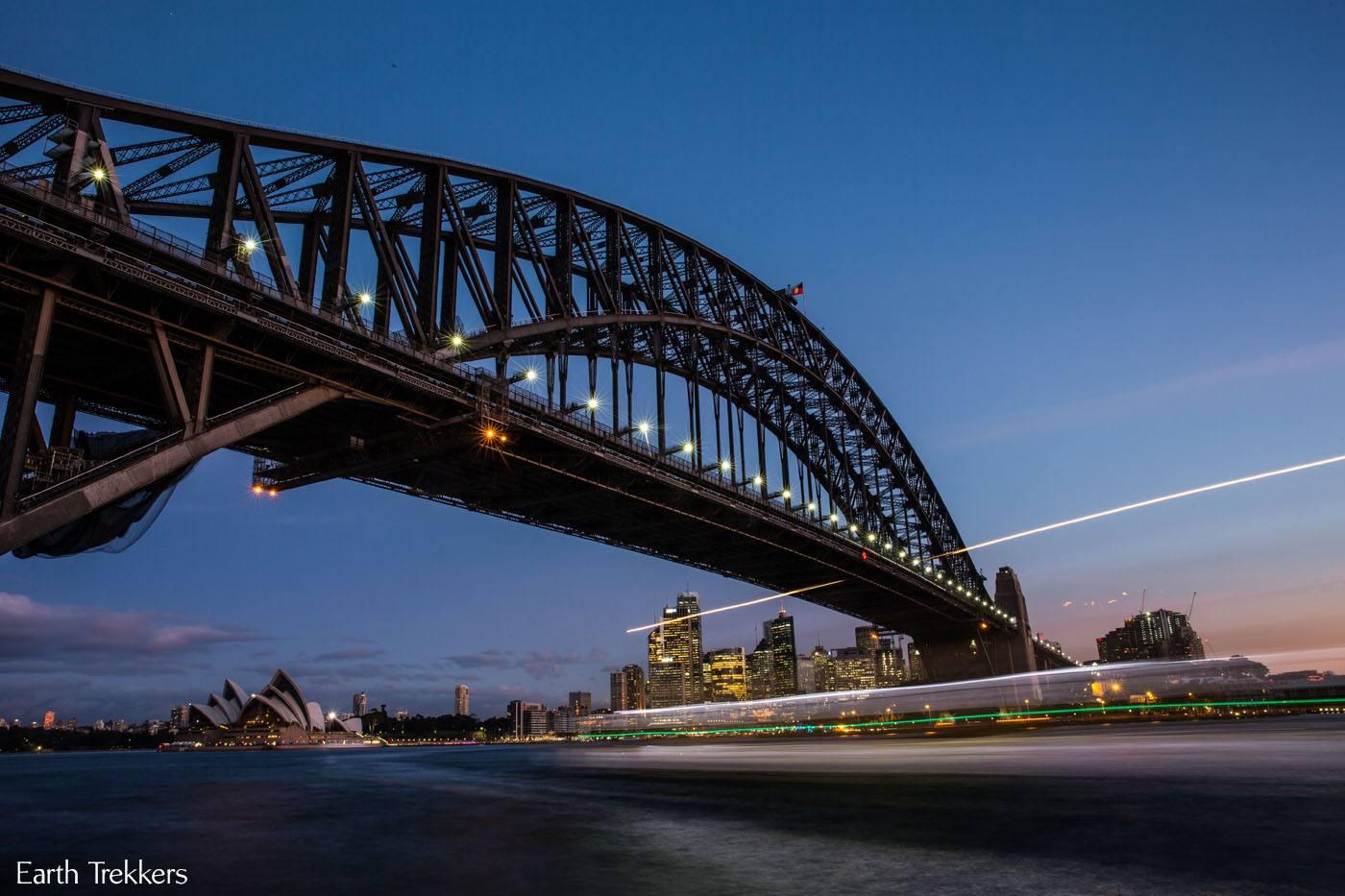 Photographing Sydney Harbor Bridge