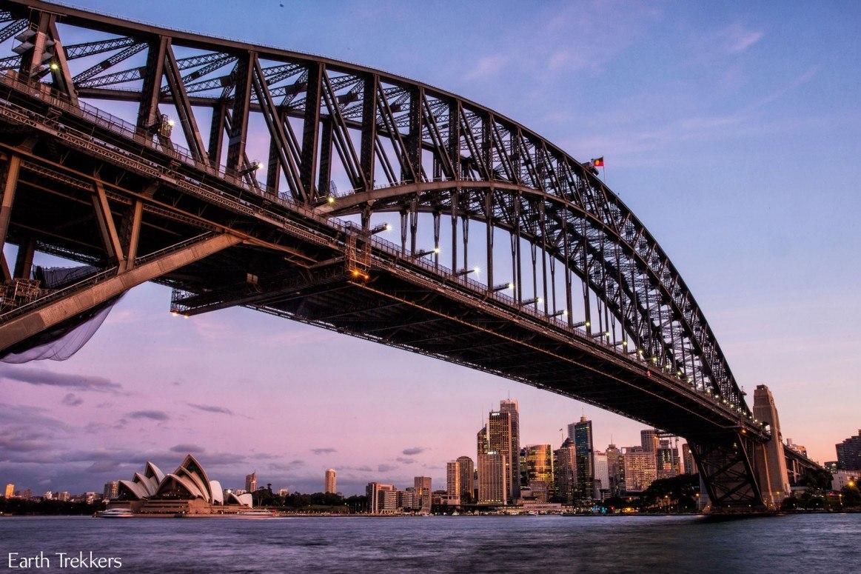 Sydney Australia Capturing the Sunset