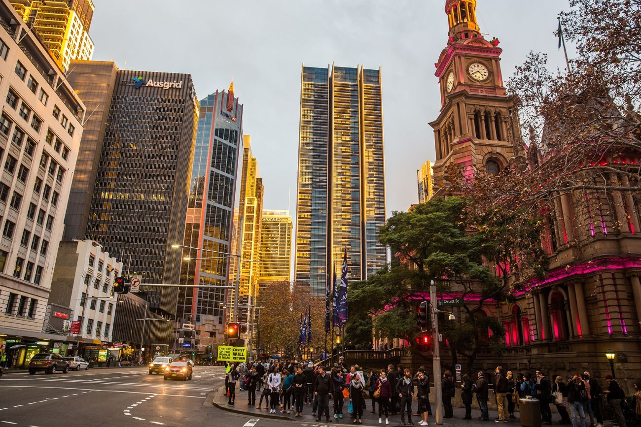 Sydney City Street