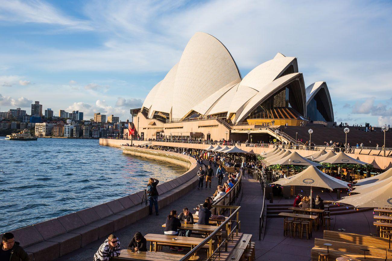 Sydney Opera House Cafe
