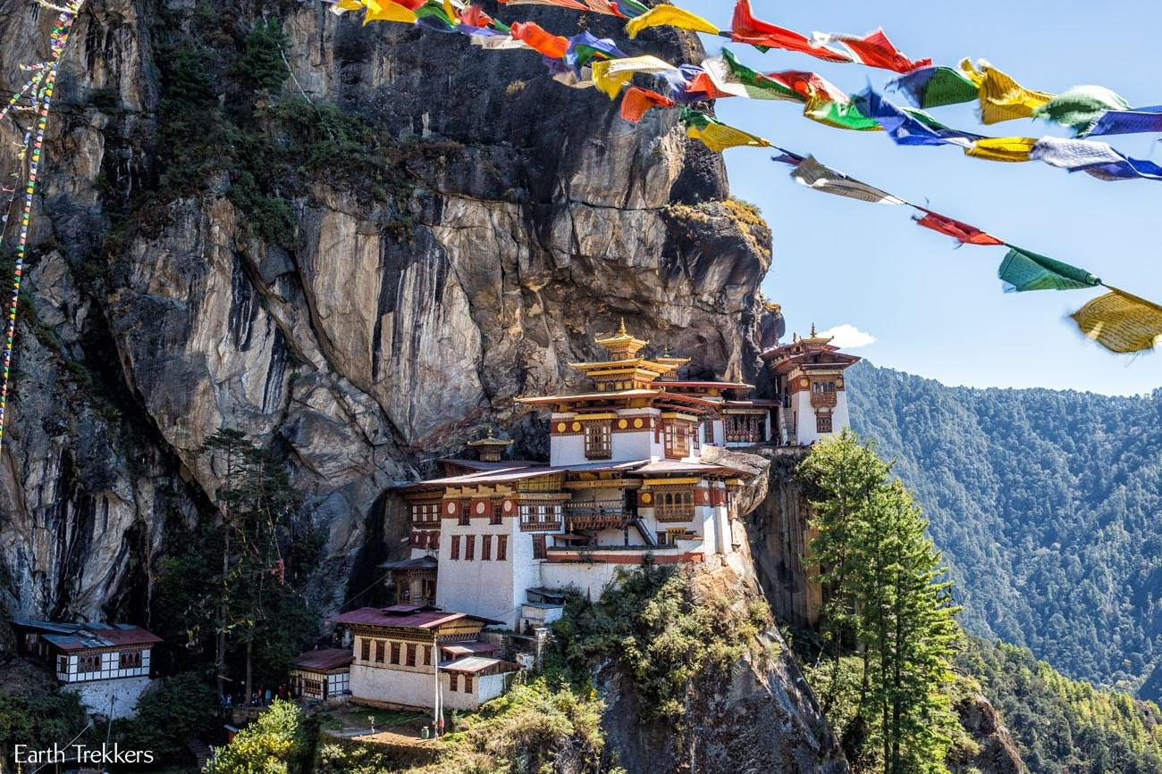 Tigers Nest in Bhutan