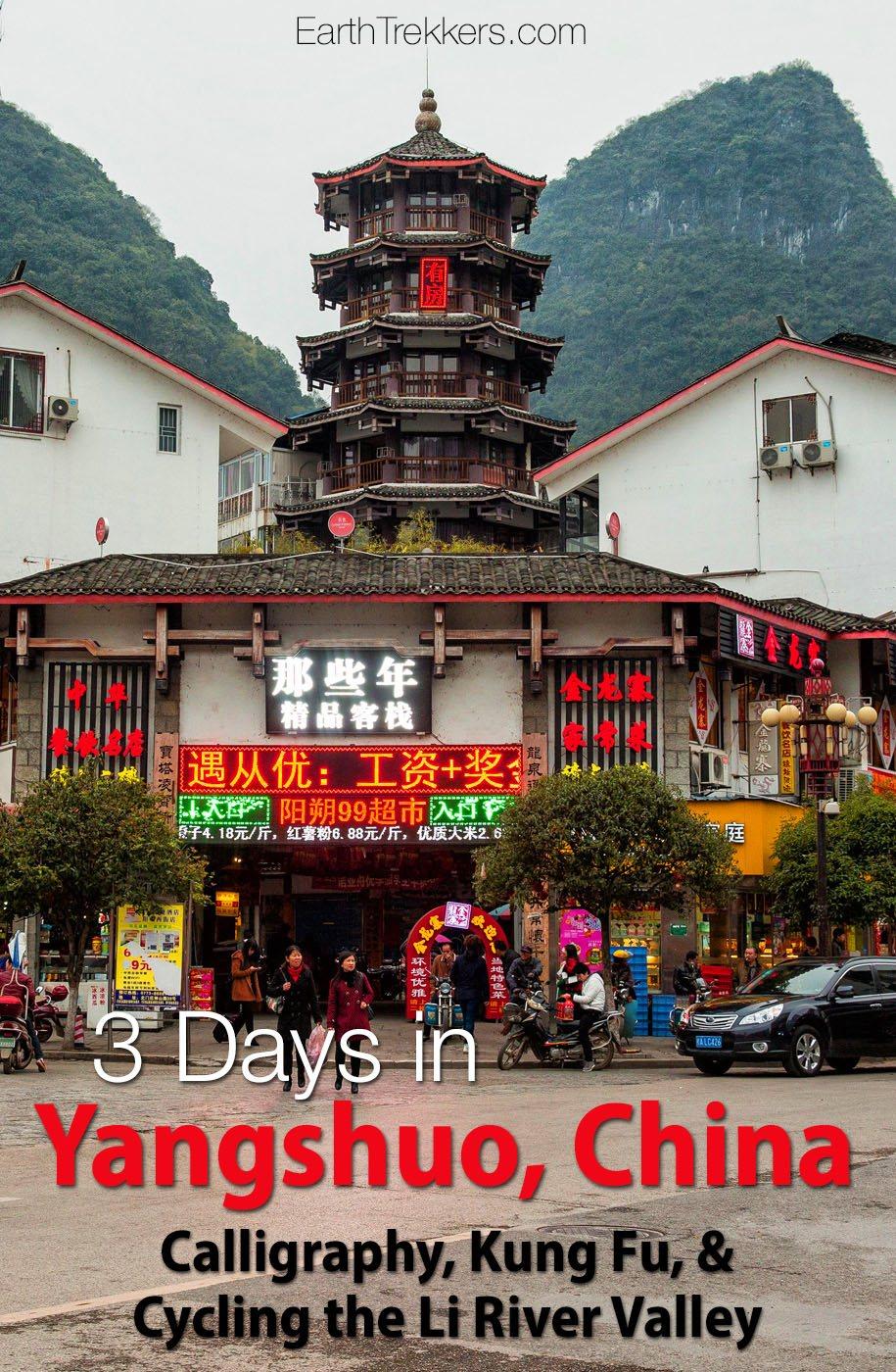 Yangshuo China Travel