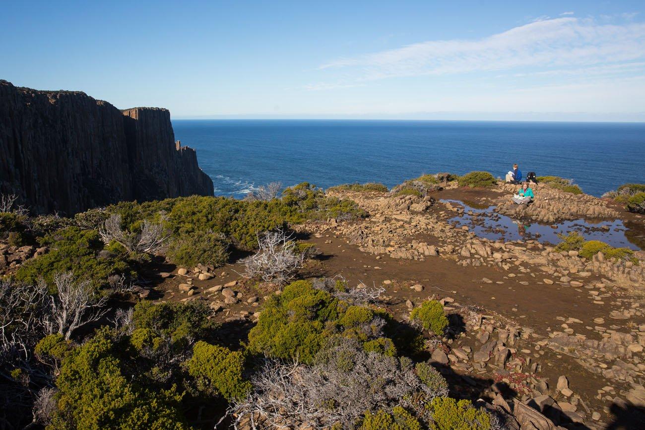 Cape Raoul picnic spot